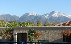 Snow on Saddleback Mountain